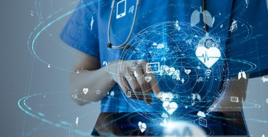 Care provider leveraging technology to uncover health insights.