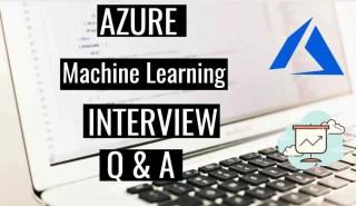 azure ml interview