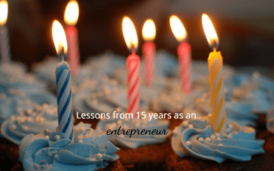 The 3 most important lessons of entrepreneurship