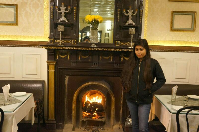 honeymoon in Darjeeling - Glenary's Darjeeling - fireplace