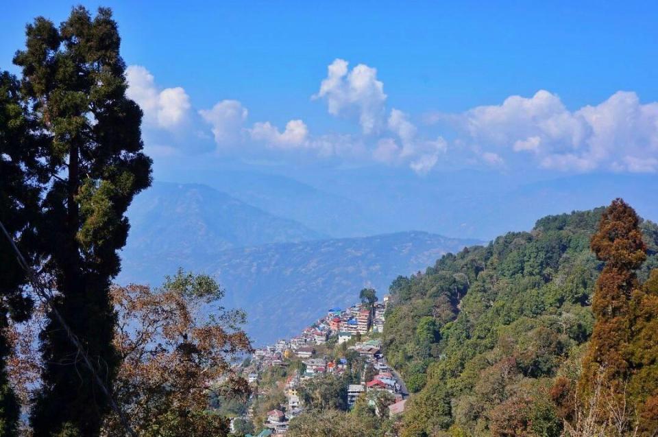 Places to visit in Darjeeling 4- The Azure Sky Follows - Tania Mukherjee