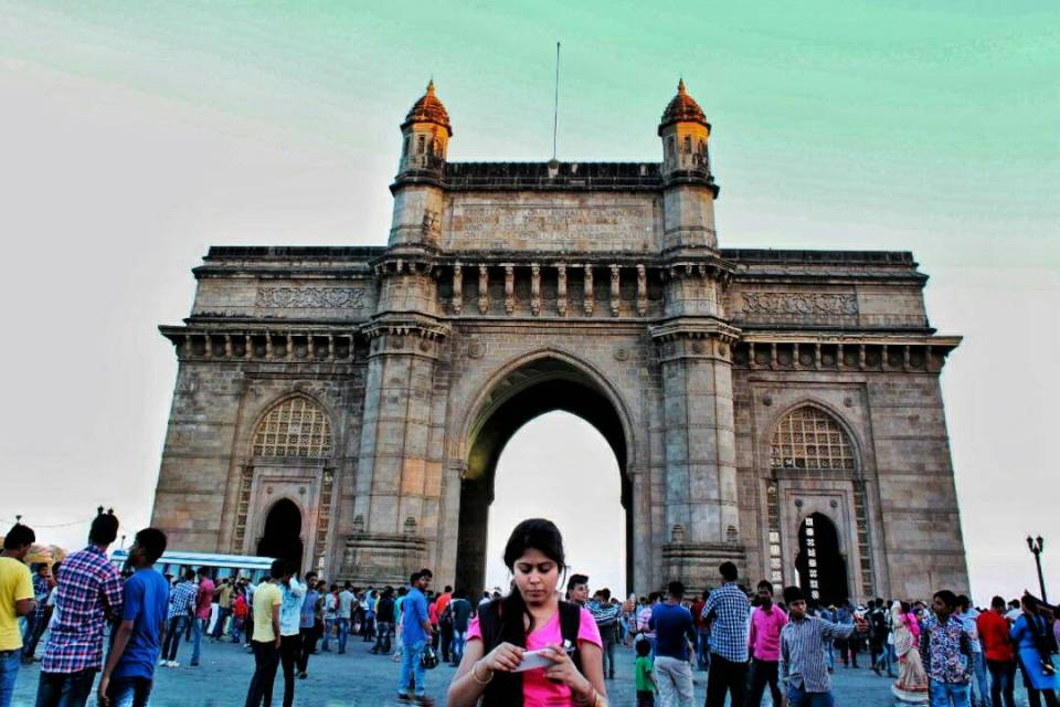 Elephanta Chronicles Voyager In The Arabian Sea 30 - The Azure Sky Follows - Gateway Of India - Tania Mukherjee