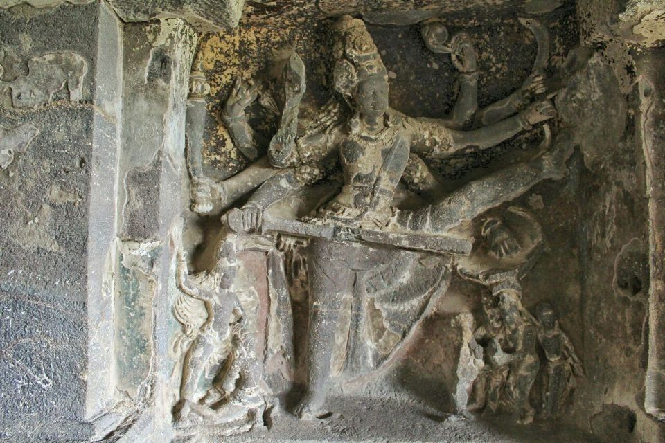 Ellora cave 15- 39 Trivikrama