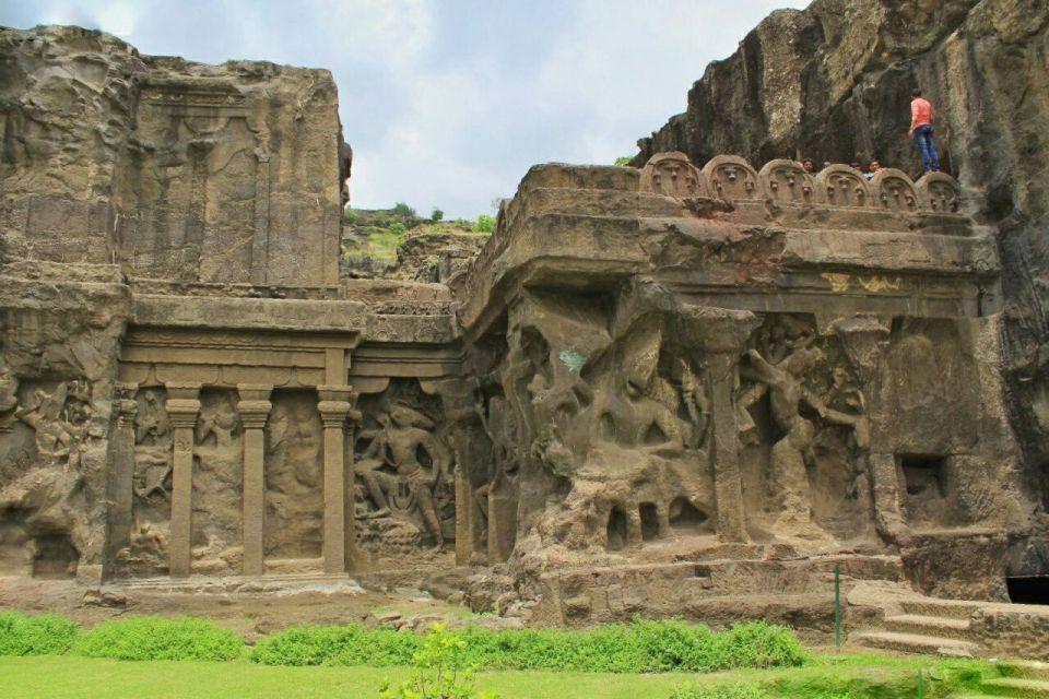 Ellora cave 16- 3 Nag Nagin Varaha Trivikrama Narasimha