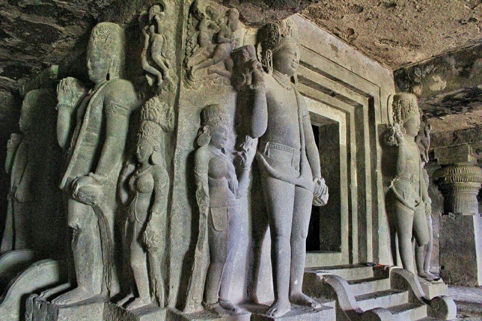 Ellora cave 29- 27 Dwarapalas