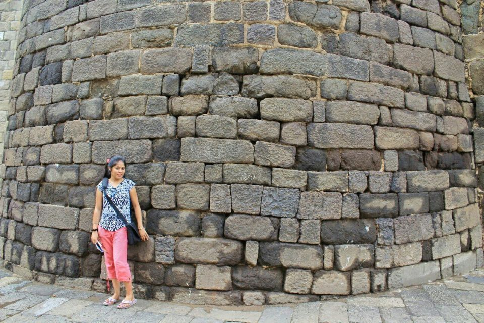 22 daulatabad fort - aurangabad - maharashtra - india - azure sky follows