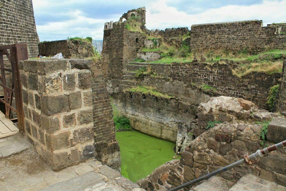 55 daulatabad fort - aurangabad - maharashtra - india - azure sky follows