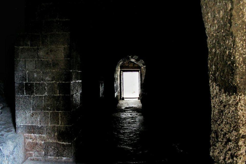 58 daulatabad fort - aurangabad - maharashtra - india - azure sky follows