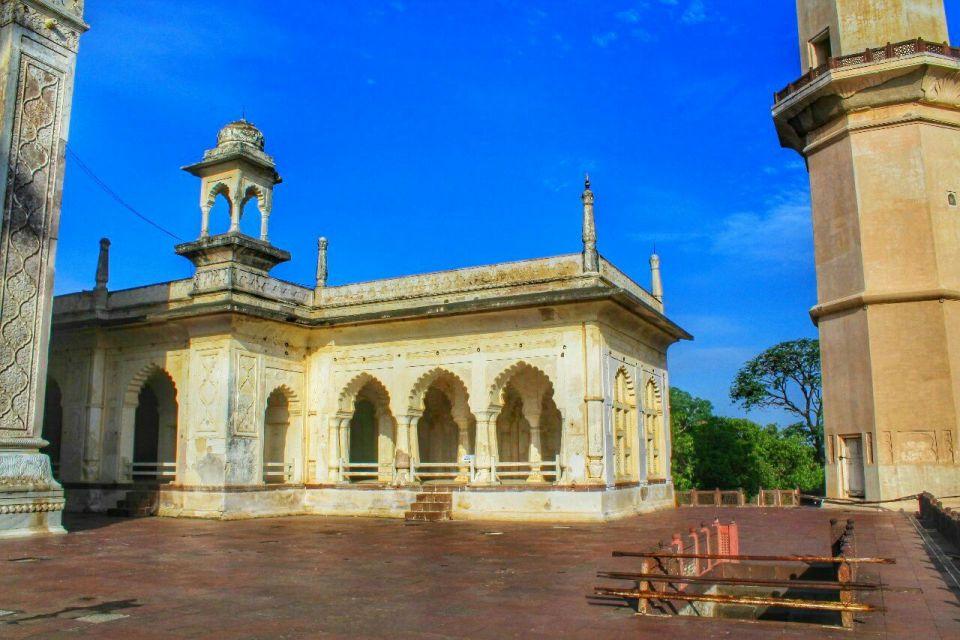 Aurangabad Taj Mahal 68 Bibi ka Maqbara Aurangabad Azure Sky Follows Tania