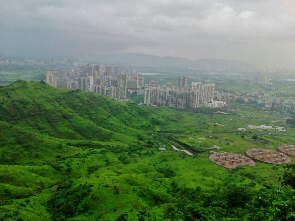 35 Azure Sky Follows - Tania Mukherjee Banerjee -Kharghar hills -Mumbai-Travel Blog