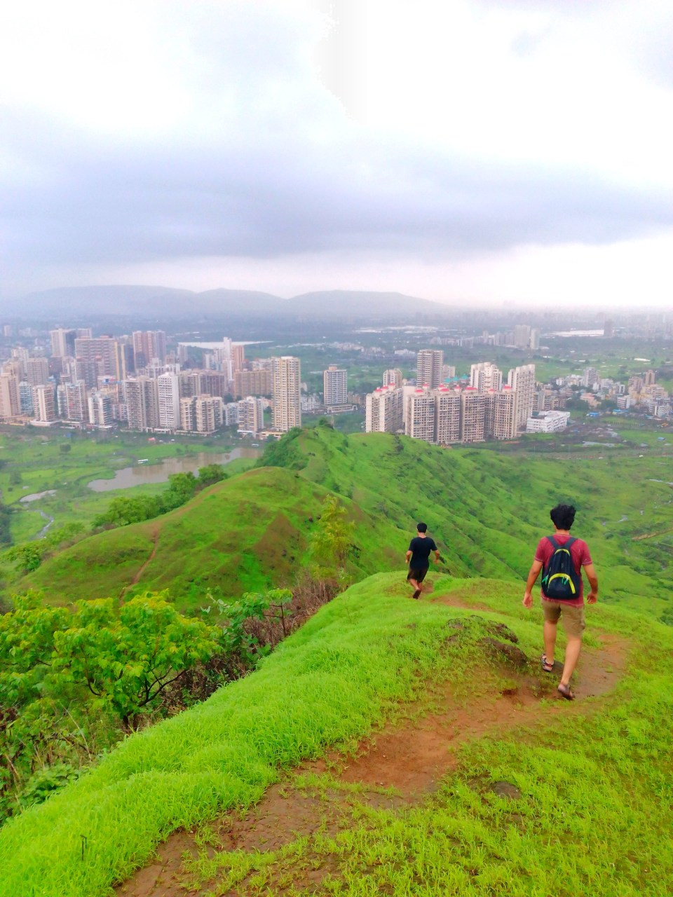 53 Azure Sky Follows - Tania Mukherjee Banerjee -Kharghar hills -Mumbai-Travel Blog