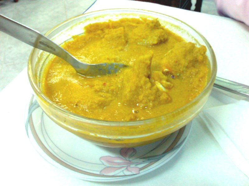 Crab curry - What to eat in Goa- Adriao