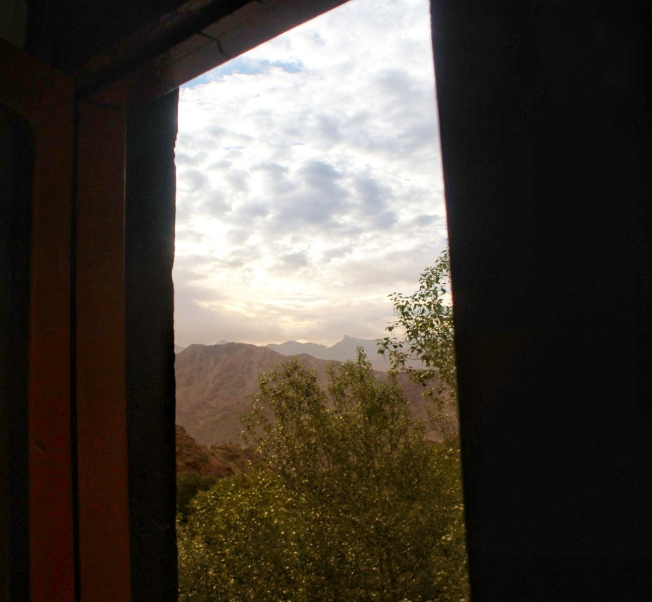 Window of Hemis Monastery Guest House