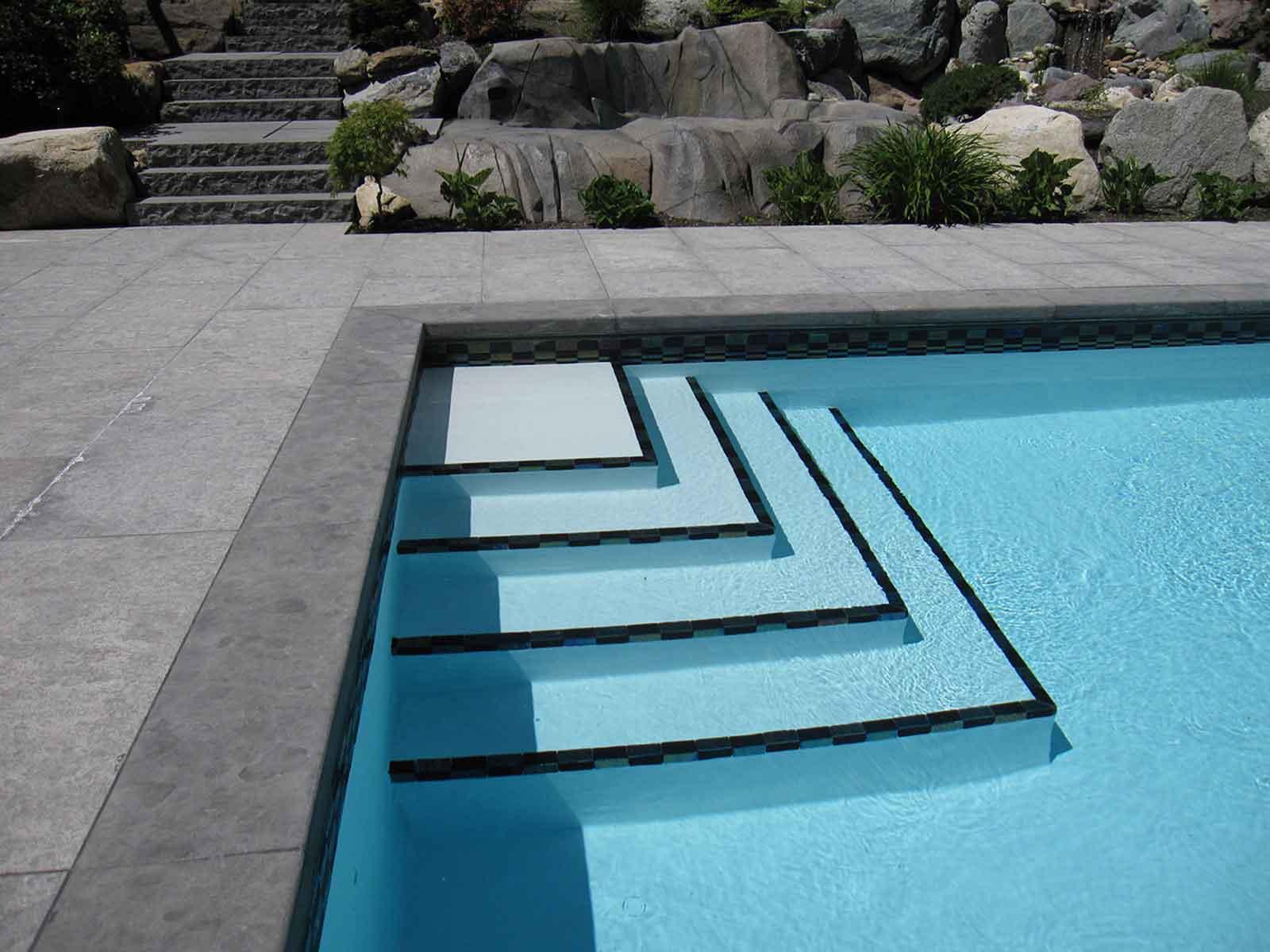 Custom Designed In Ground Swimming Pools Azuro Concepts