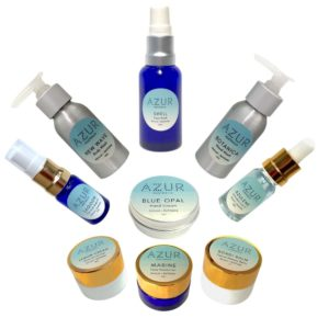 mini travel sized natural sustainable skincare products