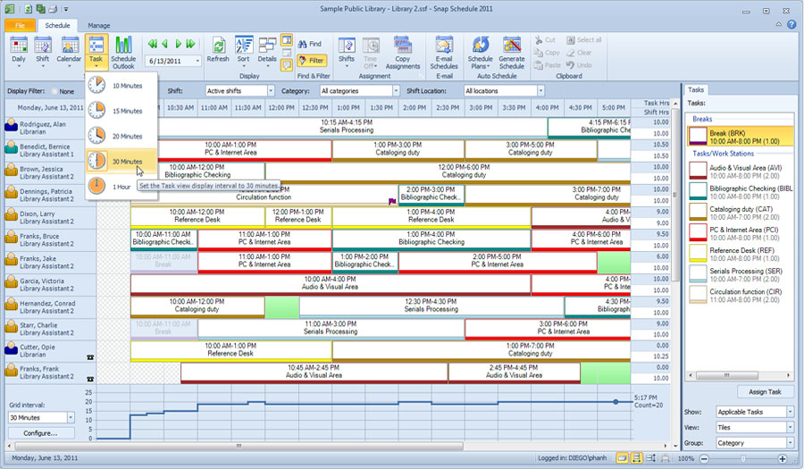 work schedule templates for word and excel. duty chart sample 4 duty ...