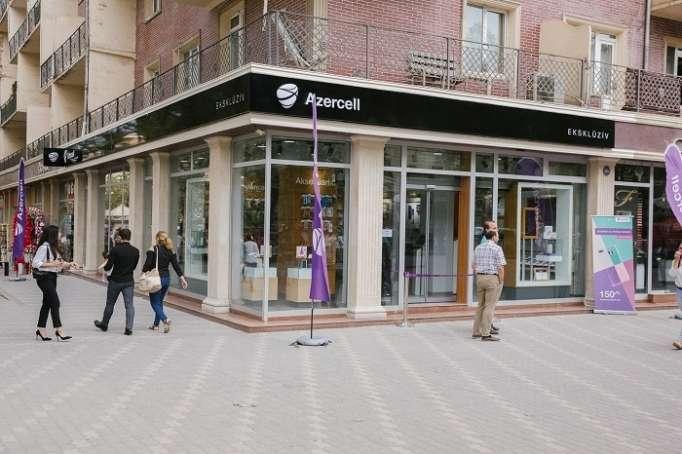 Azercell Gəncədə yeni eksklüziv mağaza açdı