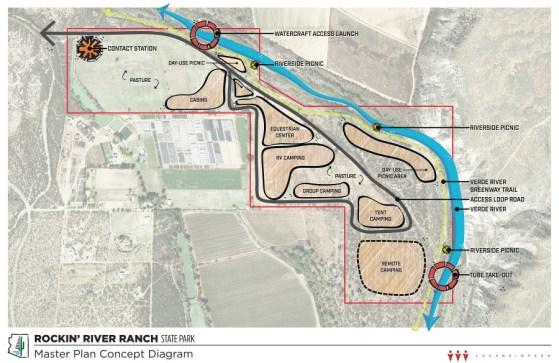 Rockin' River Ranch State Park map image