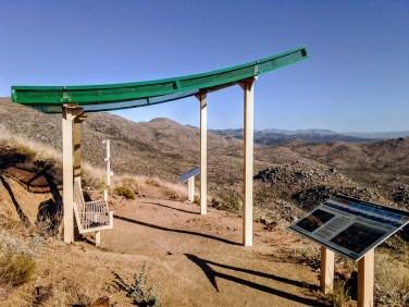 Granite Mountain Hotshots Fatality Site observation deck