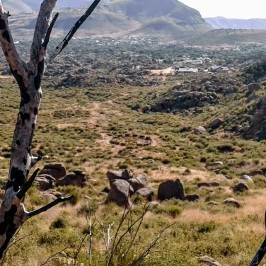 Granite Mountain Hotshots Fatality Site viewed from Journey Trail