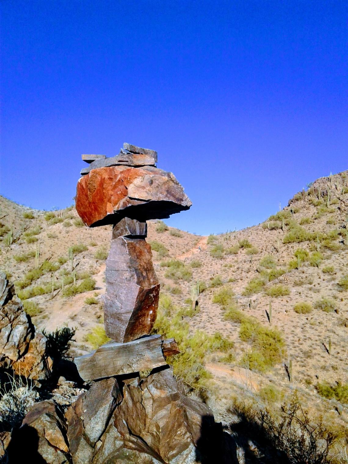 Rock Stack in Phoenix Mountain Preserve
