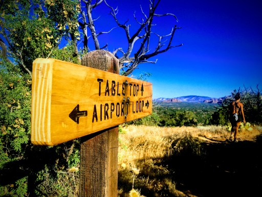 Airport Loop Trail Sign Sedona