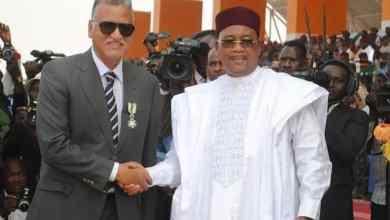 صورة النيجر: تكريم رجل الأعمال ابراهيم ولد البشير