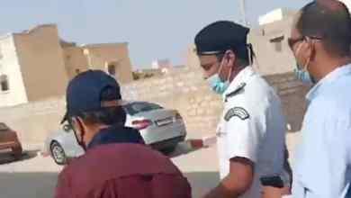 صورة ولد عبدالعزيز إلى السجن