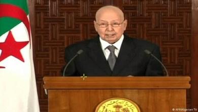 صورة وفاة الرئيس الجزائري المؤقت عبدالقادر بن صالح