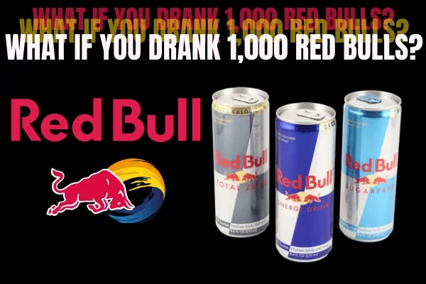 What If You Drank 1,000 Red Bulls