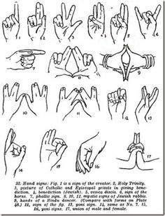 Illuminati Hand Signs
