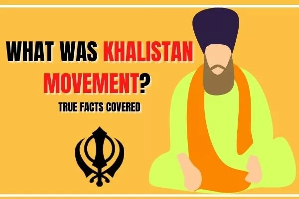 WHAT WAS KHALISTAN MOVEMENT_ TRUE FACTS COVERED