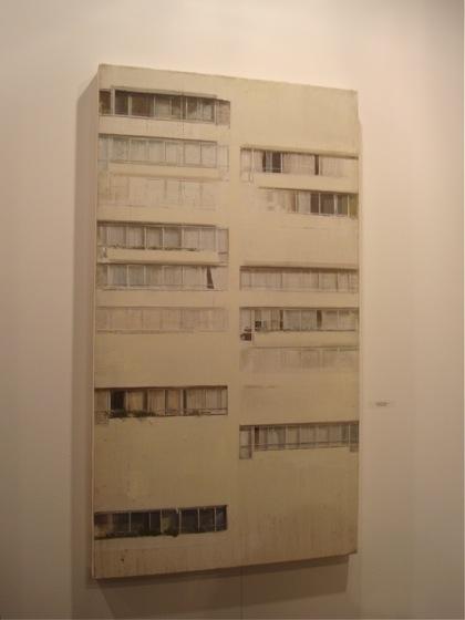 Obra de Hernán Gana. arteBA 2008.