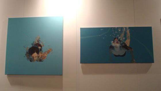 Obra de Nicole Tijoux. arteBA 2008.
