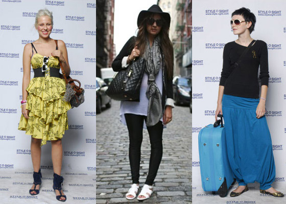 No tendencia street style JC Report Foto