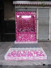 Intervención para la galería Chancha Rosa