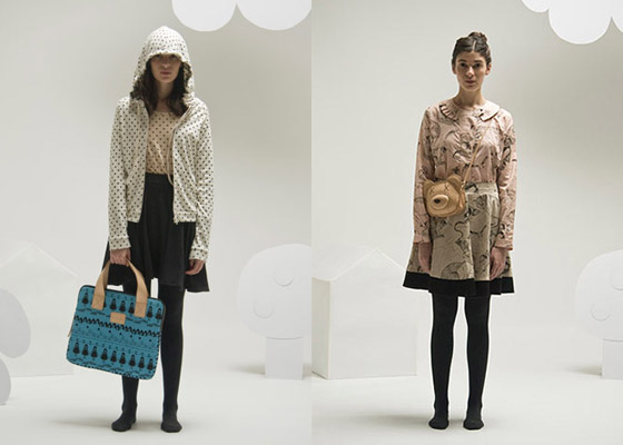 Outfits de la colección invierno de Pesqueira