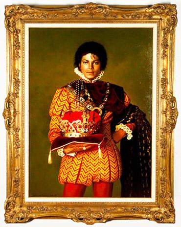 Imagen de Michael Jackson desde el blog The Moment del NYT