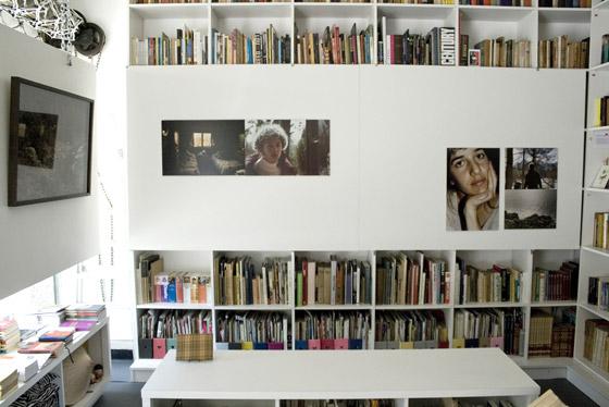 Interior de la librería Cobra en Caballito