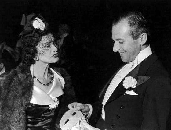 Gabrielle 'Coco' Chanel con Cecil Beaton