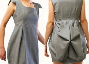 Vestido de la línea Prêt à porter de Luxe de NSBP