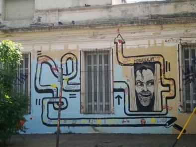 Graffiti en Matienzo y Cabrera