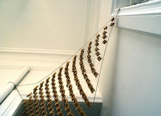 Love me Tender, instalación del estudio Normal en la Galería Ernesto Catena