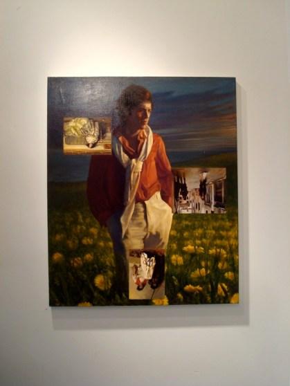 Pintura de Bruno Perillo - Bushwick Open Studios