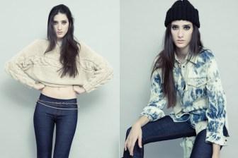 Sweater corto y camisa batik, por Neon