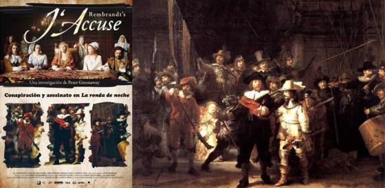 Rembrandt J'accuse. Imagen.