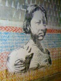 Graffities en las paredes
