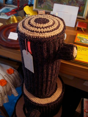 Troncos tejidos a crochet