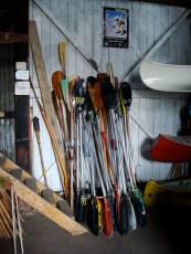 En la escuela de canotaje de Paraná