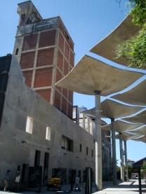 Mirando hacia el Taller de Artes y Oficios El Molino de Santa Fe